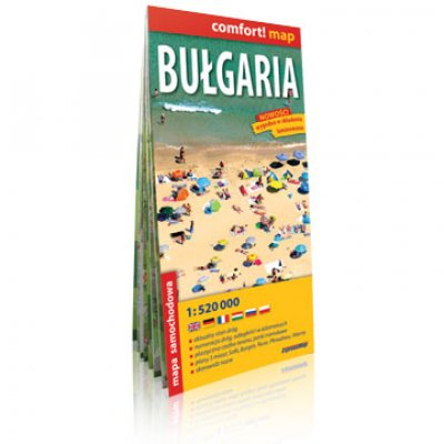Comfort Map Bulgarien 1:520.000
