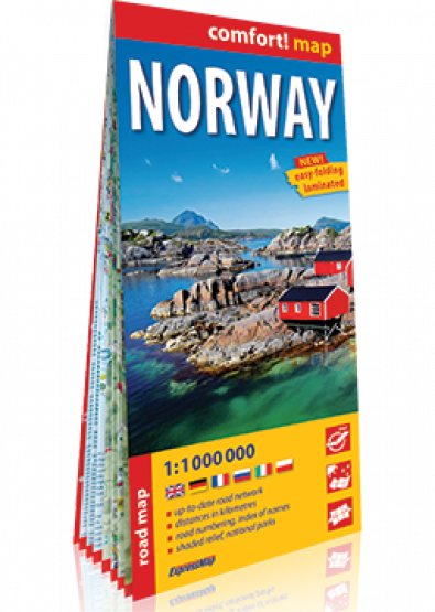 Comfort Map Norwegen 1:1.000.000