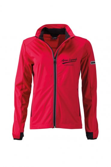 Damen Softshell-Jacke ALPINE LEGENDS