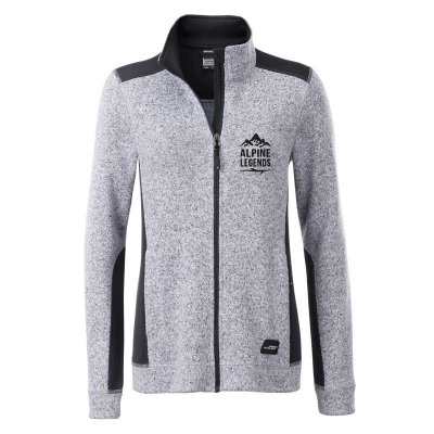 Damen Strickfleece-Jacke ALPINE LEGENDS