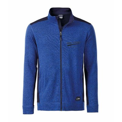 Herren Strickfleece-Jacke ALPINE LEGENDS