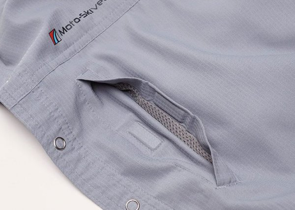 Moto-Skiveez Traveler Shirt Detail